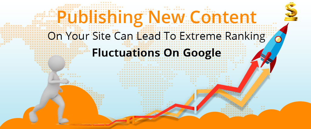 Extreme Ranking Fluctuations On Google