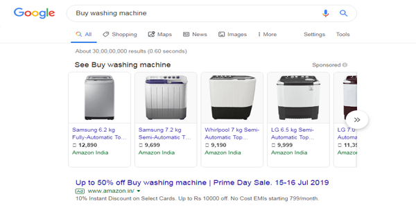 Transactional searches