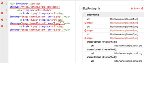 Schema code